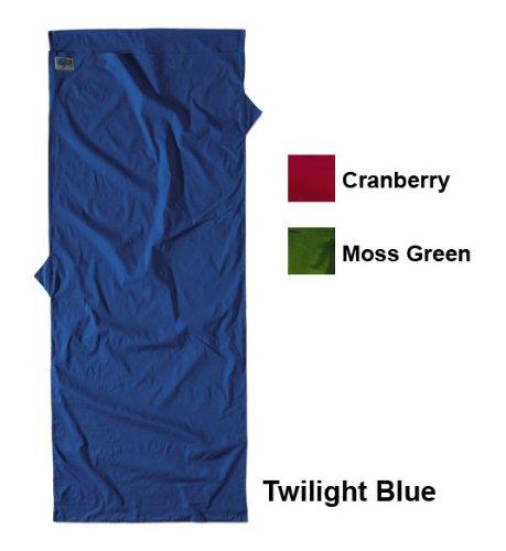Cocoon TravelSheet Microfiber – Twilight Blue, Outdoor Stuffs