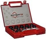 Mayhew Pro 66004 3 mm to 30 mm Metric Hollow Punch Set