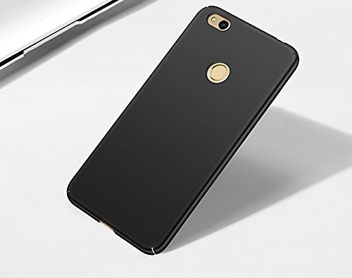 SMTR Huawei P9 lite mini Funda, Calidad Premium Cubierta Delgado Caso de PC Hard Gel Funda Protective Case Cover para Huawei P9 lite mini -Negro rojo