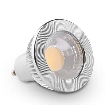goolsun 5 watt gu10 mr16 led cob flood bulb for recessed 3000k soft white dimmable 90 beam. Black Bedroom Furniture Sets. Home Design Ideas