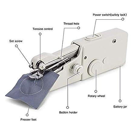 /Écharpe Rideau Paopi Machine /á Coudre Mini pour V/êtement