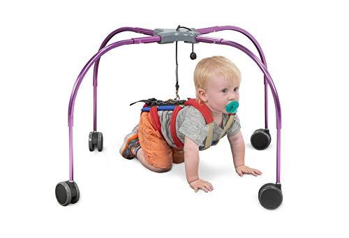 CrawlAhead Baby Crawling Therapy Device, Foldable, Lightweight, Portable