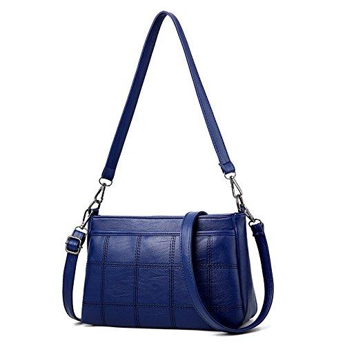 Sólido Paquete Mensajero Bolsa Blue Negro Hombro Pequeño De Sutura Un GUANGMING77 Hombro Coche En 5OH6v6