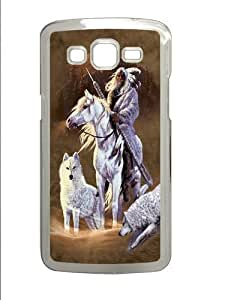Companions of the Hunt Polycarbonate Hard Case Cover for Samsung Grand 2/7106 Transparent