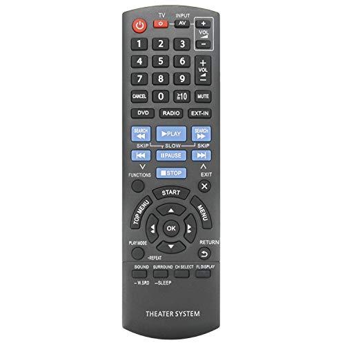 New N2QAYB000694 Remote Control fit for Panasonic DVD Home Theater Sound System SA-XH170 SB-HF171 SB-HC171 SB-HS171 SC-XH70 SB-HF75 SB-HC10 SB-HC75 SA-XH70 SC-XH170 SB-HW190 SC-XH75 SA-XH75 SB-HF10