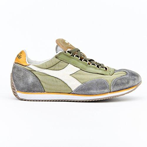 Diadora Heritage, Uomo, Equipe SW Dirty Olive, Suede / Canvas, Sneakers, Grigio