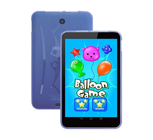 iShoppingdeals - for Hisense Sero 8 Tablet (Model E2281 Only) TPU Rubber Shell Skin Cover Case, Light Blue