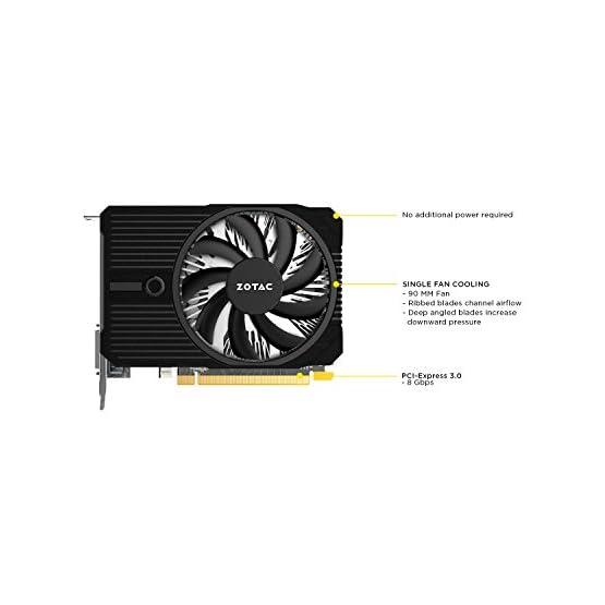 ZOTAC GeForce GTX 1050 Ti Mini, 4GB GDDR5 DisplayPort 128-bit Gaming Graphic Card (ZT-P10510A-10L) 417nfAZms3L. SS555