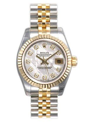 Diamant Pearl Zifferblatt Datejust Rolex Mutter Von l1KJFc