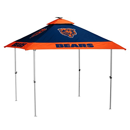 NFL Chicago Bears Pagoda Tent Pagoda Tent, Navy, One Size by Logo Brands