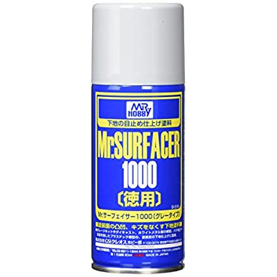 Mr. Surfacer 1000 Spray 170ml. Gundam Hobby [Toy]: Toys & Games
