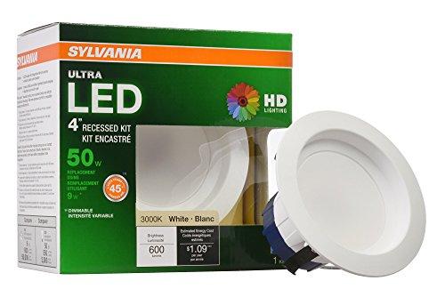 Sylvania 4 Led Recessed Lights