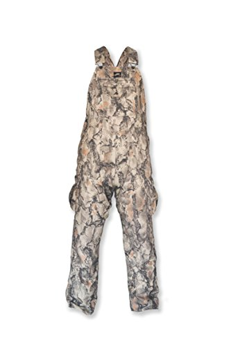 Natural Gear Camouflage Bib Overall for Men and Women, Non-Insulated, Cotton Poly Blend Hunting Coveralls for Warm Weather (XXL)