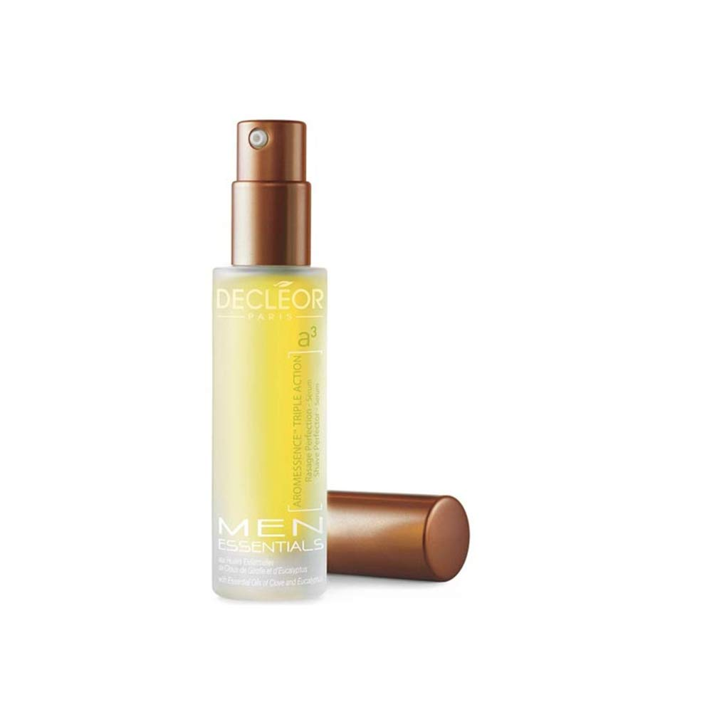 Decleor Men Skincare Aromessence Triple Action Shave Perfector Serum Men Serum, 0.5 Ounce