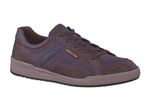 Mephisto - Zapatos de cordones para hombre Marrón marrón oscuro
