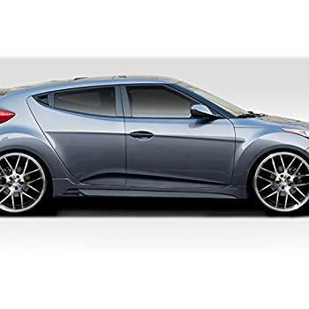 Duraflex ED-ENC-158 N Design Side Skirts - 2 Piece Body Kit - Fits Hyundai Veloster 2012-2015