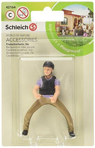 Schleich - 42164.0 - Cavalière Amatrice - Lilas