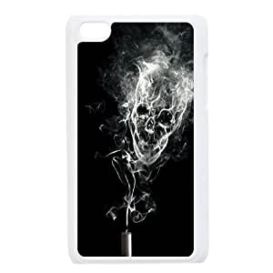 JamesBagg Phone case skull art pattern protective case FOR IPod Touch 4th FHYY480955