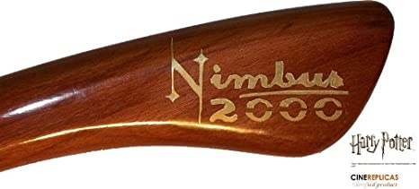 Amazon.com: HARRY POTTER Nimbus 2000 Broom Limited Edition: Clothing