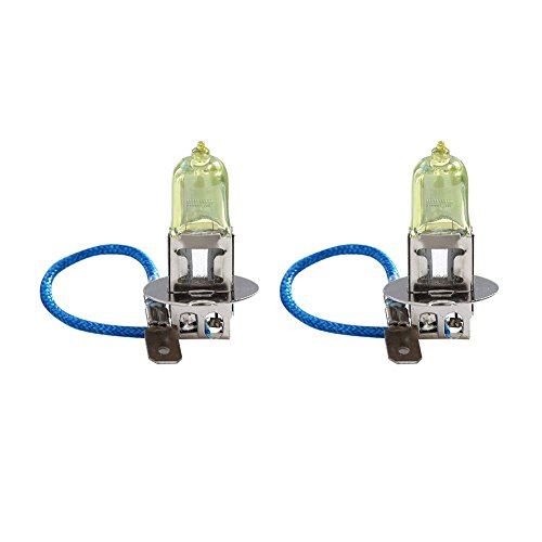 Yiwa H3 55W 3000K Golden Yellow Halogen HOD Xenon Fog Light Bulb (Pack of 2) - Dakota Ceiling Light
