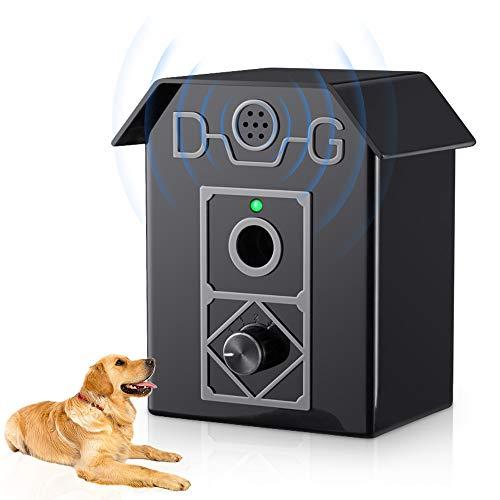 ulpeak Bark Control Device,Anti Barking Device Dog Barking Control Sonic Dogs Bark Stopper, Adjustable Stop Dog Barking…