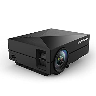 S1 LED LCD (WVGA) Mini Video Projector - International Version (No Warranty) - DIY Series - Black (FP8048S1-IV3)