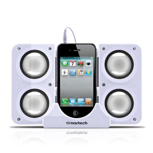 Naztech N40-11917 Portable Speaker System Dock for iPhone...
