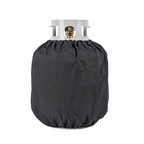 Ventilated Propane Tank Cover for 20lb Tank - Durable, Weatherproof, Water Resistant Material ()