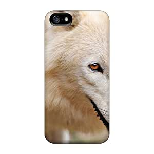 New Style Williams6541 An Artic Wolf Premium Tpu Cover Case For Iphone 5/5s