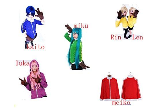 Meiko Cosplay Costume (Vocaloid Matryoshka miku Len Rin Luka Meiko Kaito Cosplay Costume)