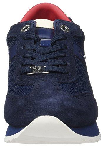Tommy Hilfiger A1285ngel 1c1, Zapatillas para Mujer Azul (Tommy Navy 406)