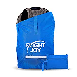 flightjoy car seat travel bag best for airport gate check ultra durable carseat. Black Bedroom Furniture Sets. Home Design Ideas