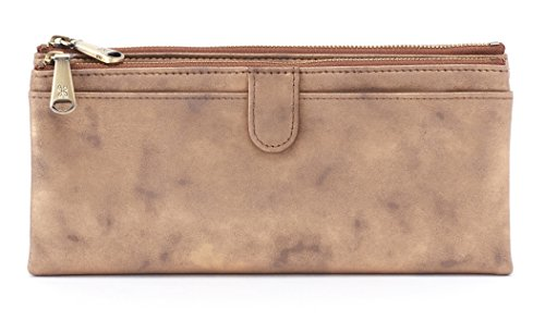 Hobo Womens Leather Vintage Taylor Clutch Wallet (Stardust) by HOBO