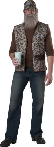 InCharacter Costumes Duck Dynasty Uncle Si Costume, Camouflage, One Size