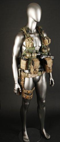 Original Movie Prop - The Dark Knight Rises - John Street's Mercenary Tactical Vest and Leg Holster - (Best None Leg Holsters)