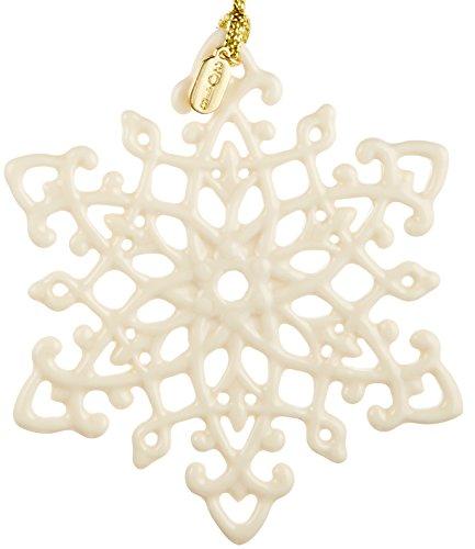Lenox 2016 Snow Fantasies Snowflake Ornament