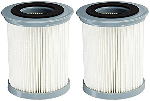 2 Pack HEPA Filter for Hoover Elite Rewind Upright Vacuum Cleaners (compares to 59157055). Fits: U5507900, U5507950, U5509900, U5511900, UH40070, U5509950, U5512900. Genuine Green Label Product.