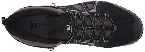 SalomonEvasion Mid GTX - zapatillas de trekking y senderismo de media caña Hombre Negro (Black /     Autobahn /     Pewter)