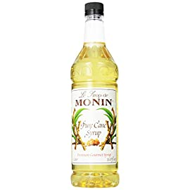 Monin - Pure Cane Syrup, Pure and Sweet, Great for Coffee, Tea, and Specialty Cocktails, Gluten-Free, Vegan, Non-GMO (1… 1 GREAT FOR COFFEE, TEA, AND SPECIALTY COCKTAILS: Made with premium ingredients, our Pure Cane Syrup is specially formulated to dissolve instantly in any beverage, for fast, convenient use with a pure flavor profile and balanced sweetness level. TASTING NOTES: Sweet cane sugar flavor, no aroma. Monin Pure Cane Syrup delivers clean tasting and balanced sweetness, in a liquid form that quickly dissolves into teas, hot or cold coffee beverages, specialty cocktails and more. SPECIFICATIONS: Allergen Free, Dairy Free, Gluten Free, Halal, Kosher, No Artificial Colors, No Artificial Flavors, No Artificial Ingredients, No Artificial Preservatives, No Artificial Sweeteners, Non-GMO, Vegan, & Clean Label