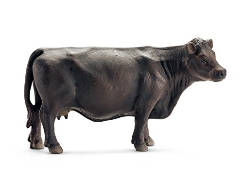 Schleich Black Angus Cow Toy Figure