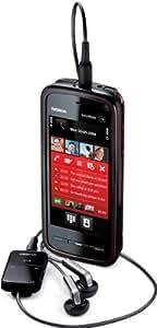 "Nokia 5800 XpressMusic - Móvil libre (pantalla táctil de 3,2"" 640 x 360, cámara 3.2 MP, 81 MB de capacidad, teclado alemán QWERTZ, S.O. Symbian) color rojo [importado de Alemania]"