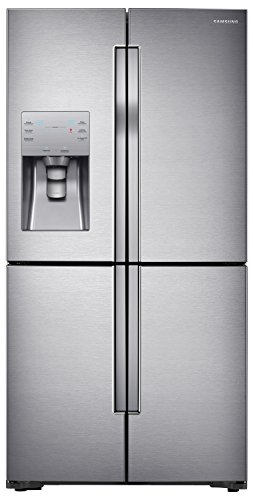 (Samsung RF23J9011SR 22.5 Cu. Ft. Stainless Steel Counter Depth French Door Refrigerator - Energy Star)