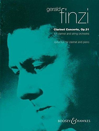 Music Sheet Concerto Clarinet - Finzi: Clarinet Concerto, Op. 31