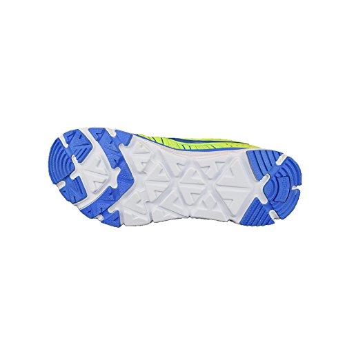 Señor, entrenamiento Zapatillas, ligera, moderna y cómoda Talla 41–46, bonitos colores leuchtgrün/blau