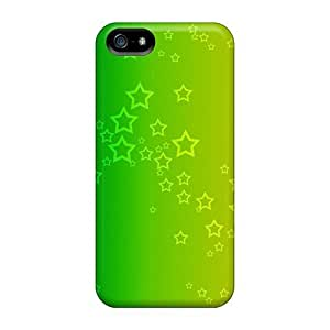 Cute High Case For Quality Case For HTC One M8 Cover A Rainbow Of Stars Case