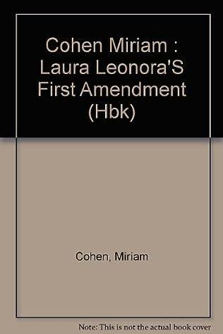 book cover of Laura Leonora\'s First Amendment