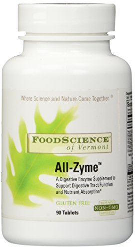 DaVinci Laboratories of Vermont All-Zyme Digestive Enzyme, 90 Count All Zyme 90 Tablets