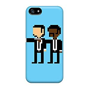 Snap On Hard Cases Covers Pulp Pixels Protector For Iphone 5/5s