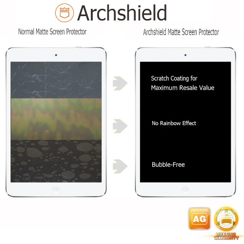 Archshield – iPad 2, 3 & 4 Premium Anti-Glare & Anti-Fingerprint (Matte) Screen Protector 2-Pack – Retail Packaging (Lifetime Warranty)
