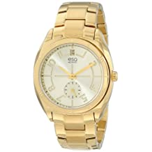 ESQ Movado Women's 07101401 esq Origin tm Tonneau-Shaped Gold-Plated Watch